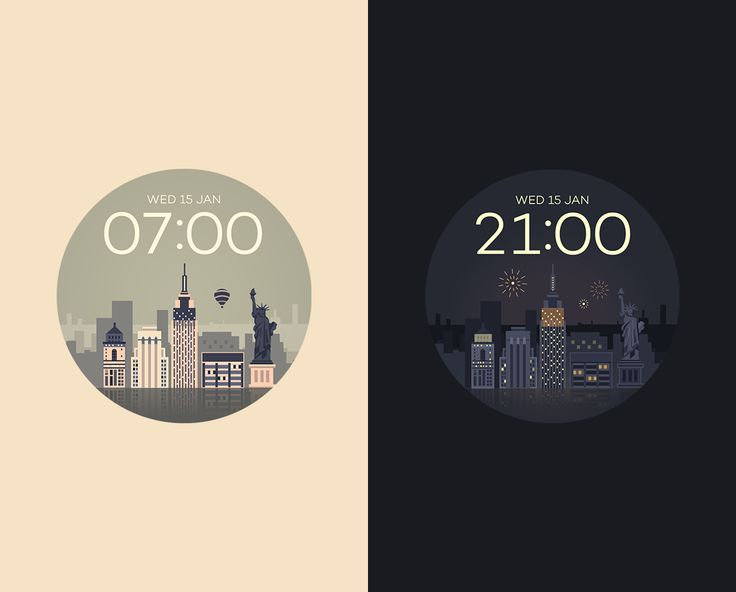 NewYork watchface by Sol - screenshot