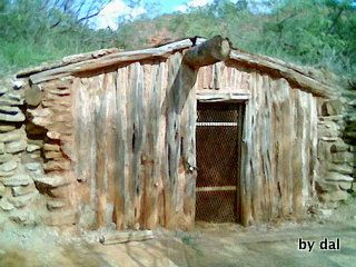 dugout   located in Palo Dura Canyon, outside Amarillo Texas  Col Charles Goodnight held up there