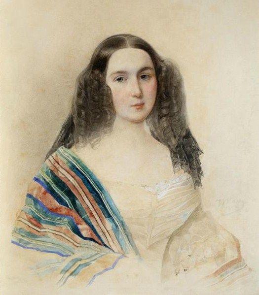 Владимир Иванович Гау - Баронесса Екатерина Николаевна Менгден (1818-1897), дочь Н.А.Муравьева от брака с А.Ф.Козловой