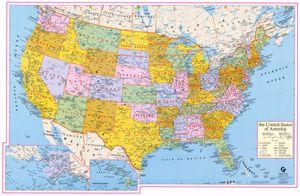 US States Latitude And Longitude Maps Usa Map Latitude And - Us longitude latitude map