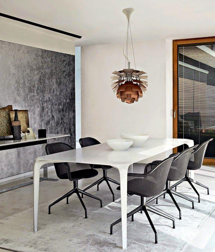 Stilvolles Esszimmer- ganz italienisch Tapeten\/Wandgestaltung - esszimmer italienisch