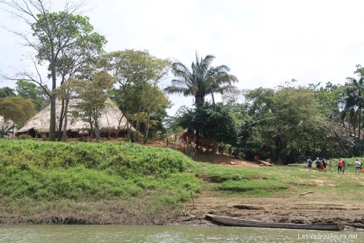 On a rencontré des indigènes Embera au Panama ...