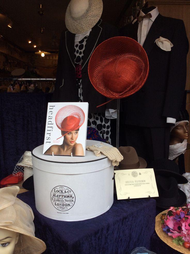 Hat by Sylvia Fletcher of Lock & Co. London.  www.fieldstaffantiques.com