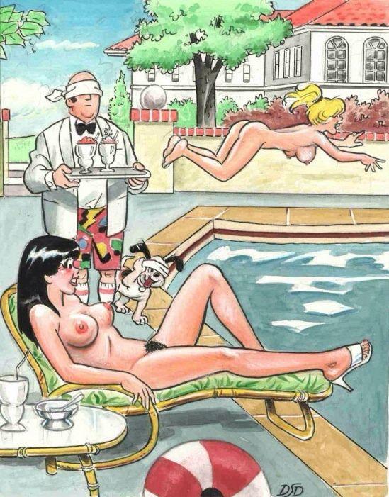 Adult hot comic