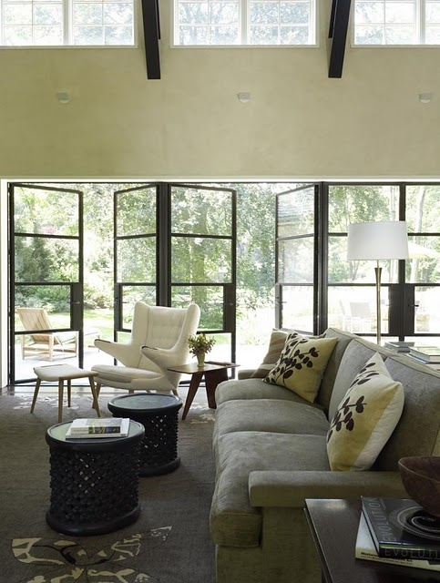♥ love the openness. It invites a lifestyle of inside outside