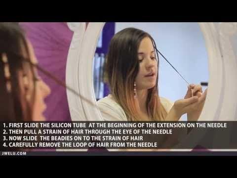 How to put beads in your hair with the Beady Shifter? Very easy and so cool! - Hoe krijg je kralen in je haar met de Beady Shifter? Supermakkelijk en heel leuk! JwelU.com