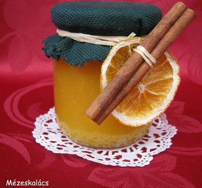 Mézeskalács konyha: Részeges narancslekvár