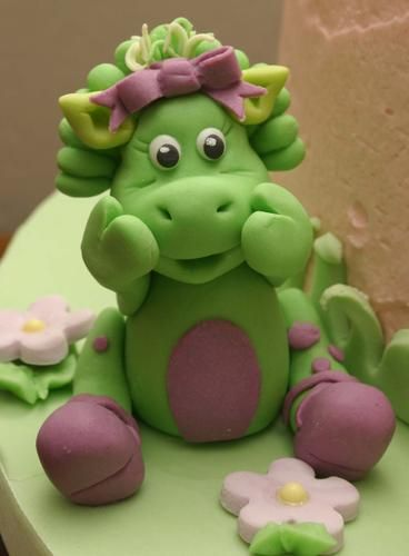 Baby Bop Cake Topper