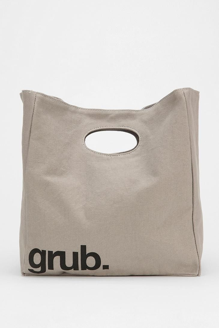 Fluf Organic Lunch Bag #urbanoutfitters #lunchbag..i don't wanna like it...but i do
