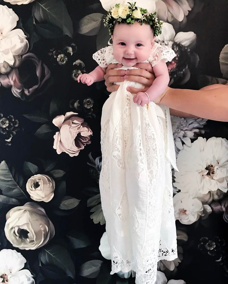 CARA CHATWIN (@thegrittypretties) on Instagram: Christening Photos in the Grace Gown!