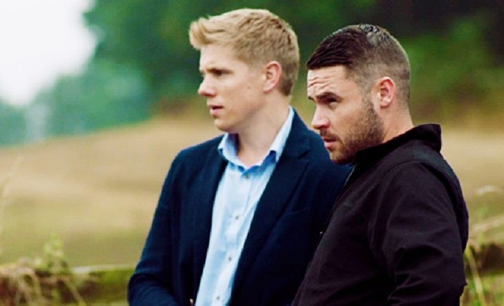 Aaron and Robert have had quite the turbulent relationship on Emmerdale and spoilers tease that things are about to get even worse. Rebecca's pregnancy has been announced and the father of the child is none other than Robert.      Whilst Aaron was away in prison, Robert and Rebecca got up to n