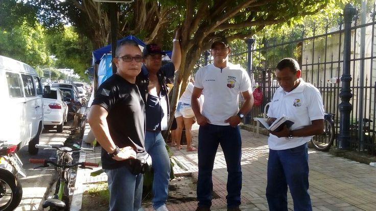 10/05/2015 - Belém, PA, Fiscais plantonistas: Cleosvaldo, Eduardo Pena, Luiz Tavares e Ribamar