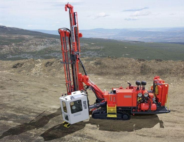 Foreuse fond de trou / sur chenilles ø 115 - 216 mm | DR540 Sandvik Mining