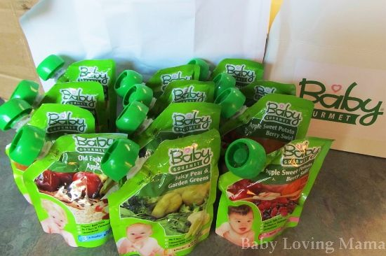 Combining the best of two worlds... pouches and organics!