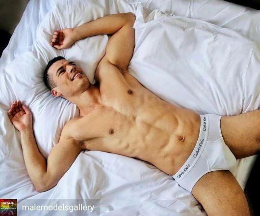 Men With White Underwear