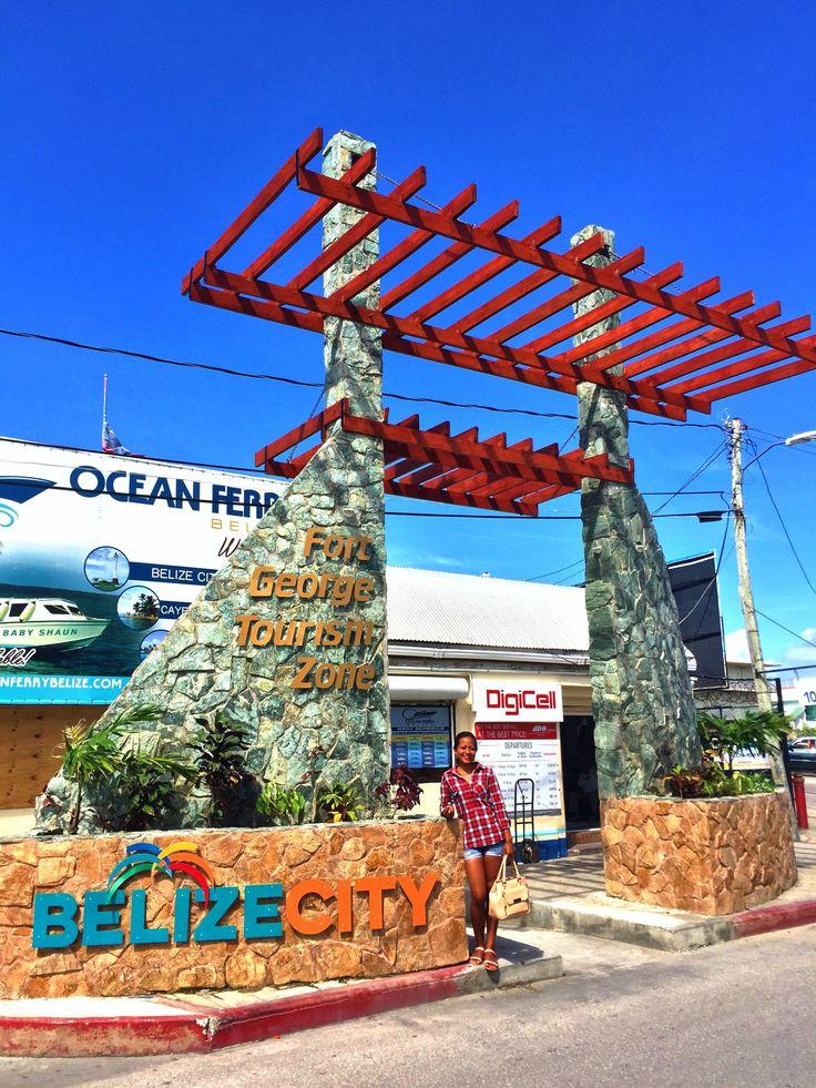 Belize marine terminal downtown belize city belize city