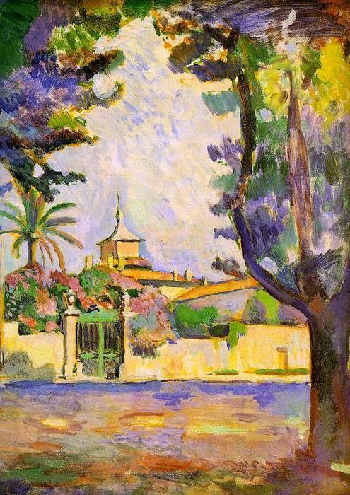 """""""Place des Lices, St. Tropez"""", óleo sobre tela por Henri Matisse (1869-1954, France)"""