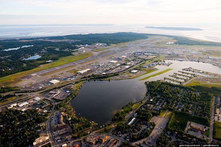 Гидроаэропорт Лейк-Худ (Lake Hood Floatplane Base). Анкоридж, Аляска, США