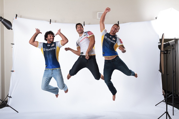 North Queensland Cowboys at the ISC photoshoot
