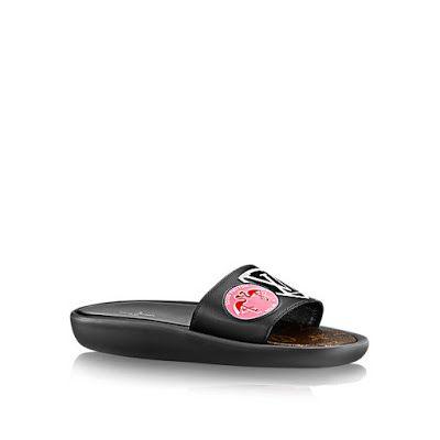 Image result for lv slippers nicki minaj