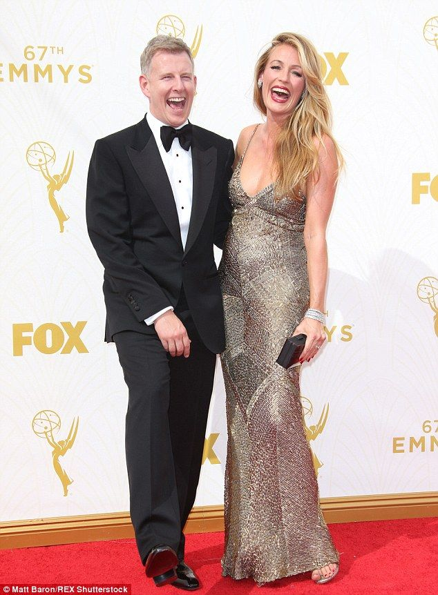 Happy couple:Cat and husband Patrick Kielty, 44, revealed they were expecting their first...