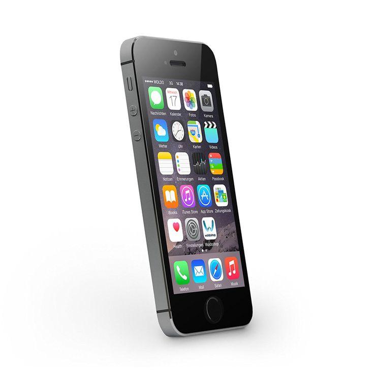 Apple iPhone 5S Space Grau 16GB SIM-Free Smartphone (Zertifiziert und Generalüberholt) EUR 194,80