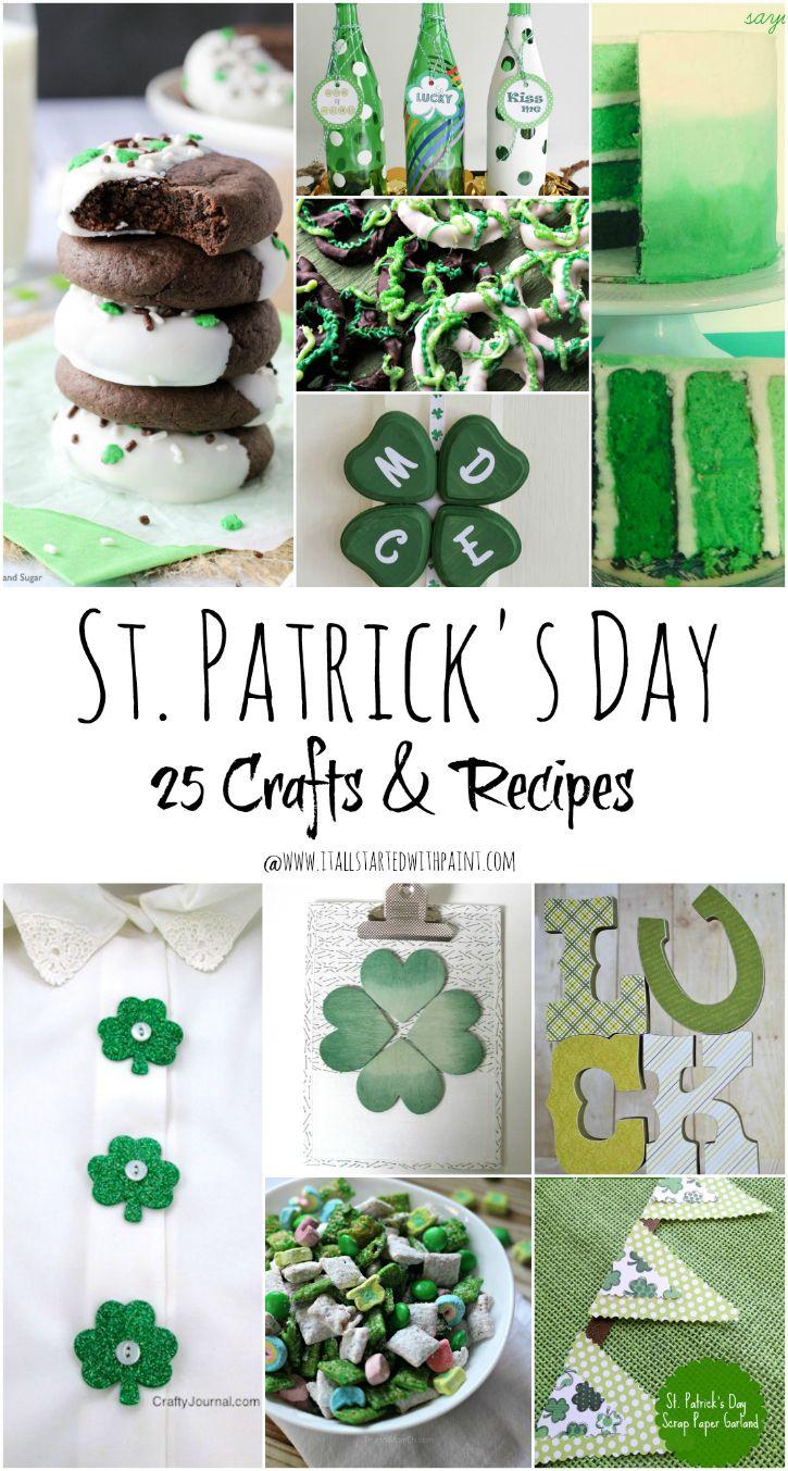 St. Patrick's Day Crafts & Recipe Ideas