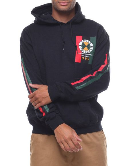 Find FLAG LOGO PULLOVER HOODIE Men s Hoodies from Cross Colours   more at  DrJays. 66aee8147