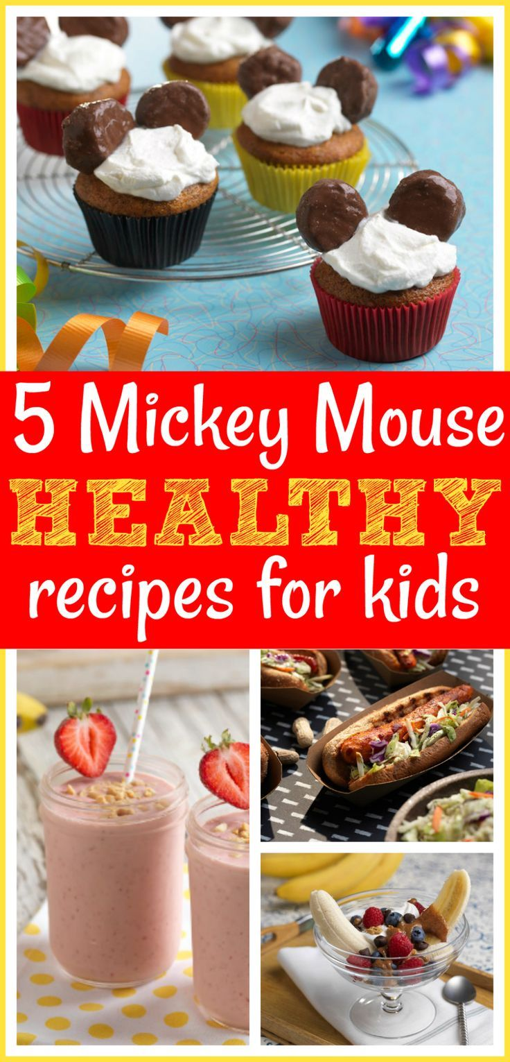 AD 5 Healthy Mickey Mouse Recipes For Kids