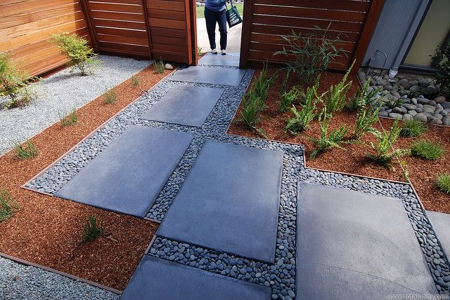 """backyard- 48"""" x 24"""" concrete pavers"""