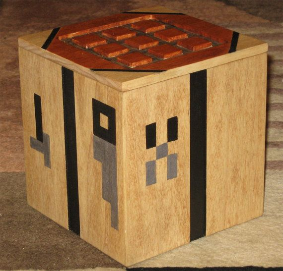 Minecraft crafting table crafting minecraft and etsy for Minecraft coffee table