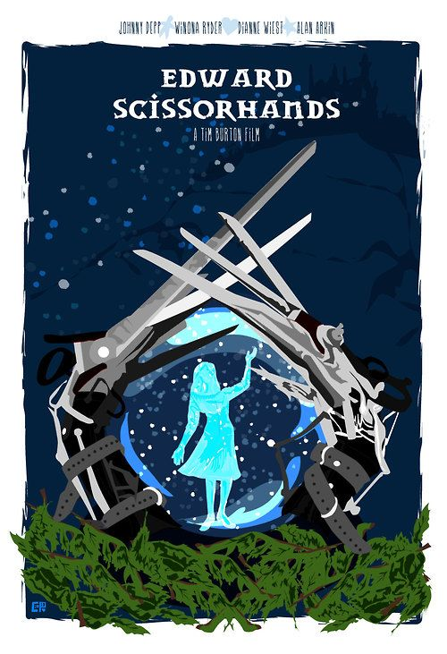 Edward Scissorhands by Cutestreak Designs