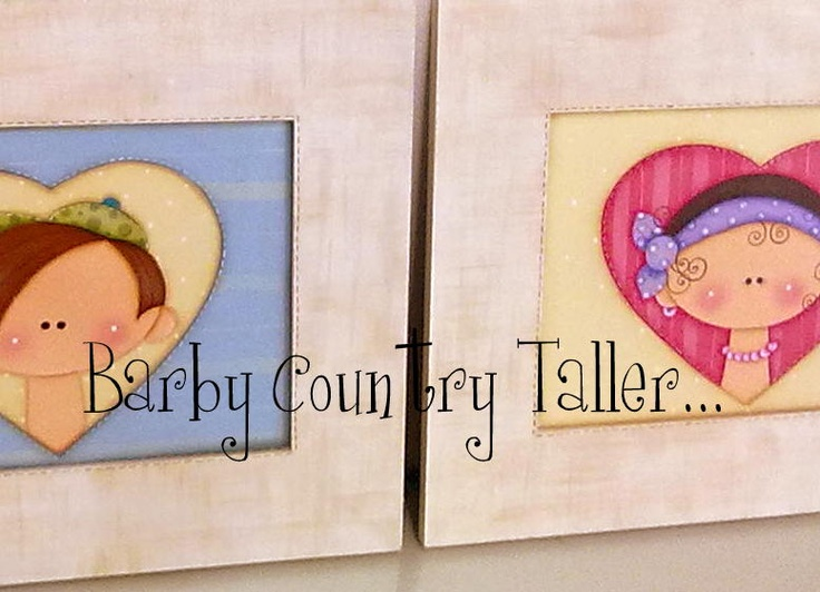 Pintura country.  Prof. Barby Schnabel  barbycountry@hotmail.com