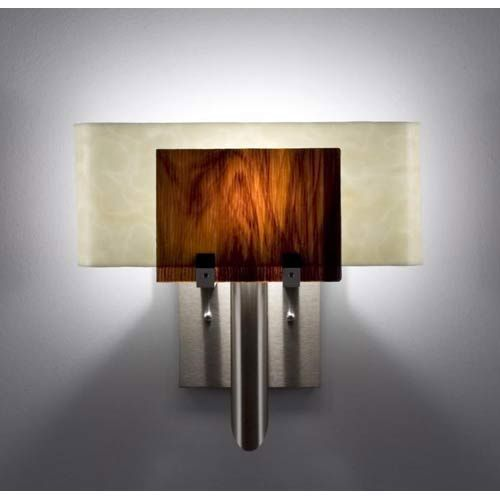 Dessy One Rootbeer Snow Curved Back ADA Wall Sconce