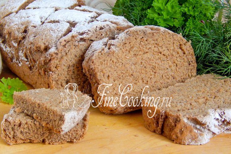 Пшенично-гречневый хлеб с солодом