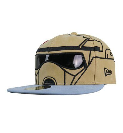 The Star Wars Rogue One Sand Trooper 59Fifty Hat is for those of you swinging by Scarif later! That's a much nicer planet than Hoth from what I understand.