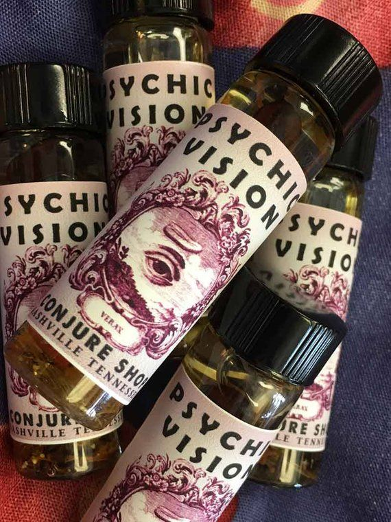 Psychic Vision Oil scent - hoodoo - witchcraft - pagan