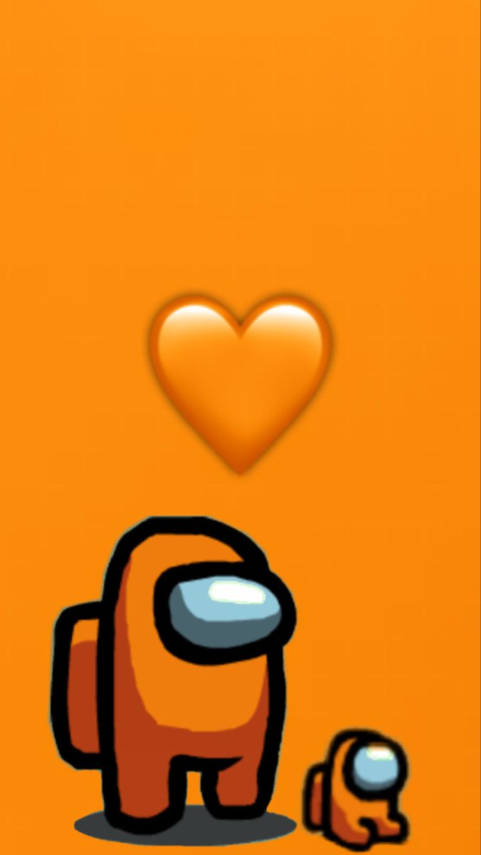 Orange Among Us Cute Patterns Wallpaper Cool Backgrounds Wallpapers Butterfly Wallpaper Iphone