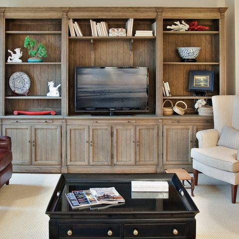 Best Media Wall Images On Pinterest Built Ins Basement Ideas - Built in media center designs