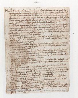 Leonardo da Vinci's resume.