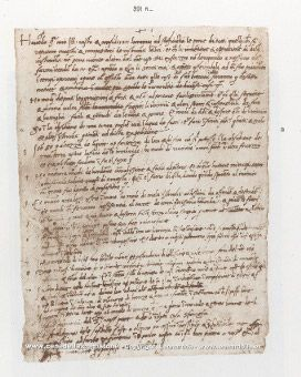 Leonardo da Vinci's Resume - daVinci has always been one of my heroes.  This was his actual resume submitted to the Duke of Milan in 1482
