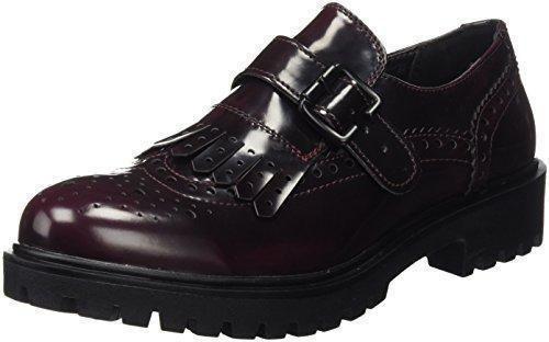 Oferta: 39.95€ Dto: -40%. Comprar Ofertas de XTI 46275 - Zapatos Oxford para mujer, color Rojo (BURDEOS), talla 38 EU barato. ¡Mira las ofertas!
