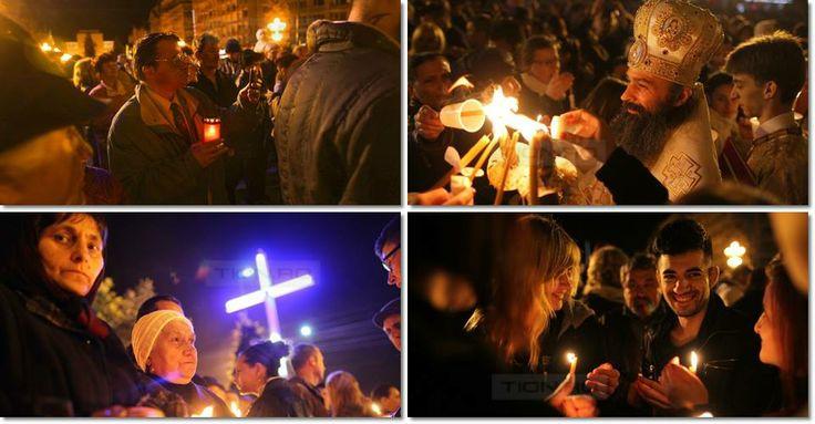 Slujba de Înviere la Timișoara