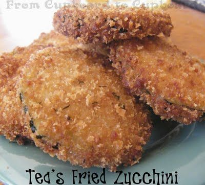 From Cupboard to Cupboard: Tea's Fried Zucchini
