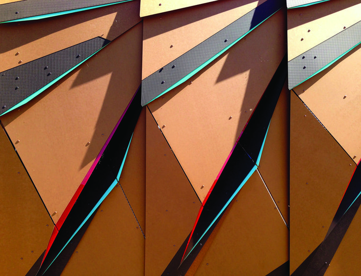 Paper Composite Siding - Richlite Rainshadow from Intectural