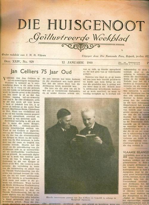 Die Huisgenoot van 12 Januarie 1910
