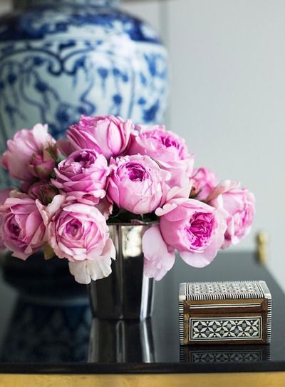 a profusion of pink . . .