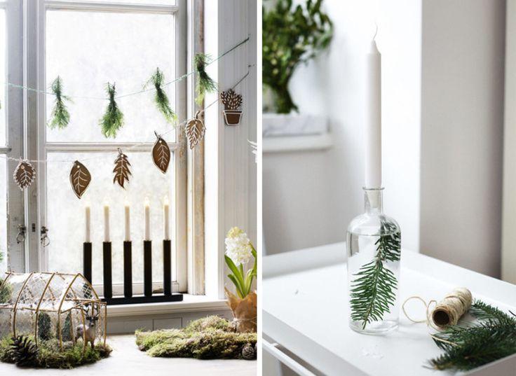 DIY: 8 vackra juldekorationer du gör enkelt själv