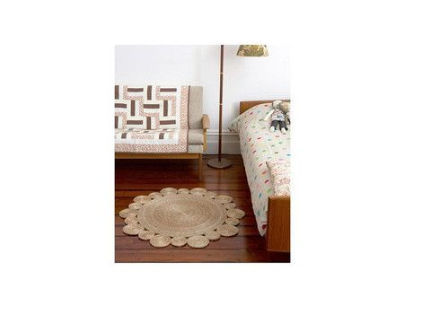ARM-FW3 | Rug - Flower Weave - Daisy | The Banyan Tree Furniture
