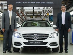 Mercedes-Benz launched locally manufactured C 220 CDI at Rs 37.90 lakh